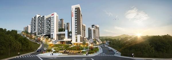 홍은 제13구역 주택재개발 정비사업 조감도 (이미지=HDC현대산업개발)