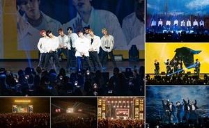 [포토]스트레이 키즈, 월드 투어 美 공연 성료..압도적 무대 퍼포먼스 팬들 매료