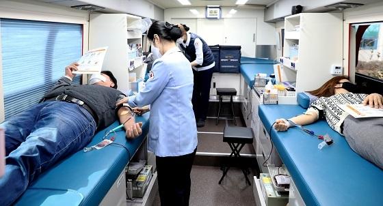 ▲계룡시가 긴급으로 헌혈의 날을 추가 운영했다 (사진 = 계룡시)