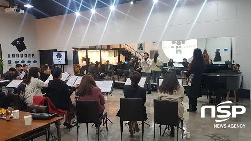 오페라 아카데미 오디션이 진행될 오페라인제주 스튜디오