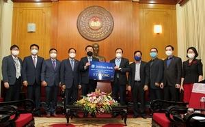 [포토]신한베트남은행, 코로나19 극복…베트남정부 2억5000만원 기부
