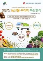 [NSP PHOTO]청양군, 농산물 꾸러미 특판행사 추진