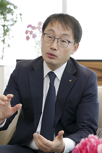 KT 구현모 대표 (사진 = KT)