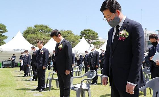 [포토]양승조 충남지사, '대한민국 의병의 날' 기념행사 참석