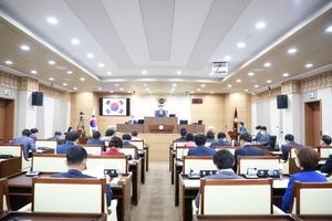[포토]평택시의회, 제215회 제1차 정례회 개회