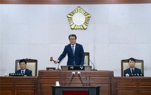 [포토]장흥군의회, 1일 제257회 제1차 정례회 개회