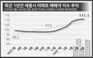 [NSP PHOTO][확인해보니]세종시 아파트값 지속 상승세, '한정판 아파트'란 말까지 나와