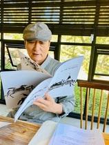 [NSP PHOTO]아트인명도암, 양상철 작가 초대전 '글•그림 거리좁히기' 열어