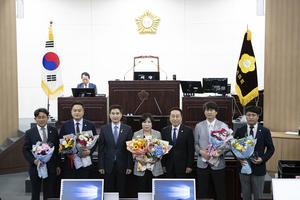 [NSP PHOTO]화성시의회, 경기도 의정활동 우수의원 5명 수상