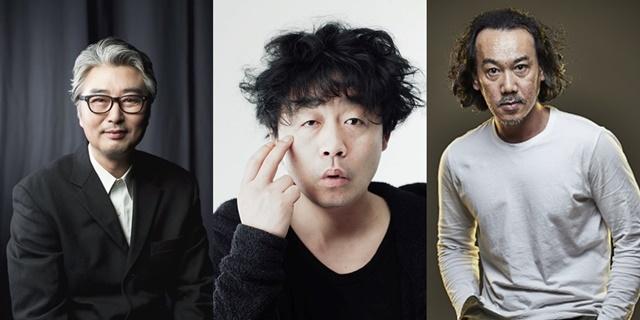 ▲영화 소리꾼에 함께 출연하는 배우 손진환(左) 최대성(中) 한동규(右) (사진 = 가족이엔티)