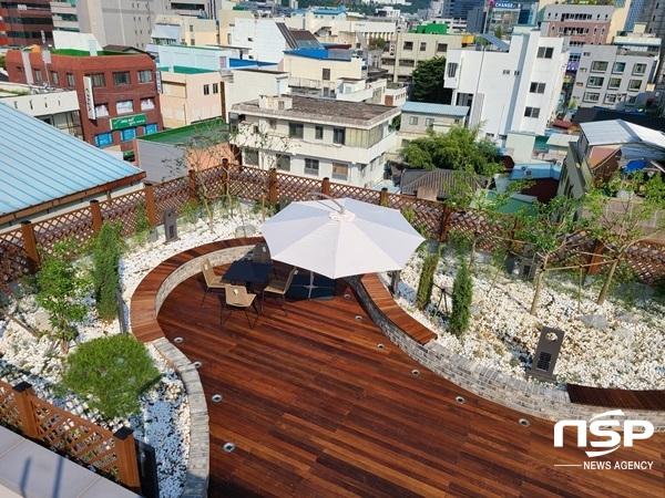 광주 동구 미로센터 옥상정원. (사진 = 광주 동구)
