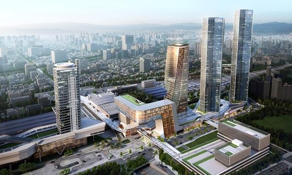 대전역세권 개발사업(이미지=한화건설