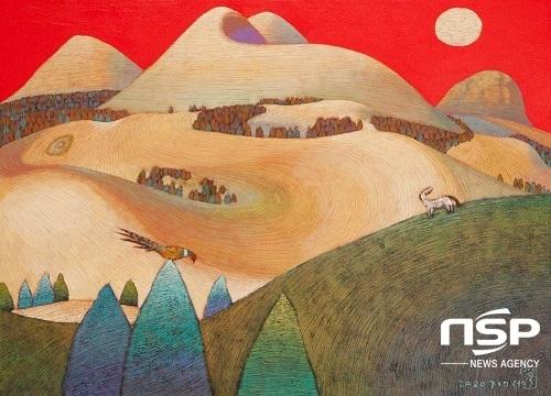 [포토]아트제주 스페이스 개관전 '섬의 유토피아', 섬사람들의 눈높이 표현