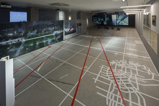 프로젝트 해시태그 2020 강남버그 작품 설치 전경