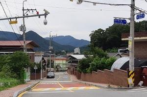 [포토]무주군, 불법쓰레기 투기 단속 등에 CCTV 활용