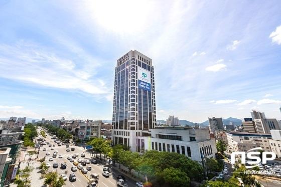 전북은행 본점 전경