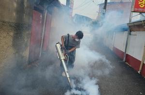 [NSP PHOTO]천안시, 집중호우 침수지역 방역활동 실시