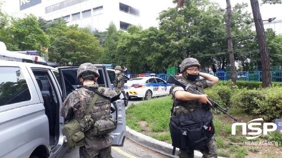 [NSP PHOTO][단독] 수원시 이마트에서 폭발물 발견, 경찰 군부대 ...