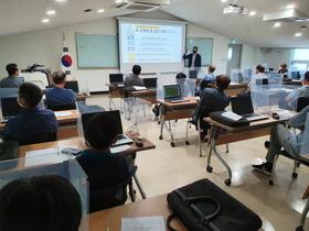 [포토]김포시농기센터, 포도연구회 농산물우수관리 인증 기본교육 마쳐
