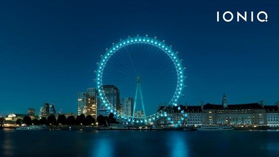 런던 아이 이벤트 장면 (사진 = 현대차)