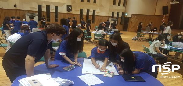 경상북도교육청은 10일부터 오는 11일까지 2일간 WE-DO 프로그램을 활용한 아쿠아 어드벤쳐! STEAM Maker 활동!이란 주제로 2020년 창의융합 사제동행캠프를 개최한다. (사진 = 경상북도교육청)