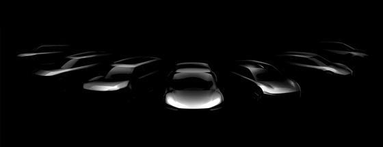 기아자동차가 오는 2027년까지 출시할 전용 전기차 7개 모델의 스케치 이미지 (사진 = 기아차)
