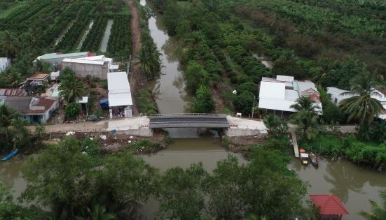 베트남 껀터시 스틸브릿지 (사진 = 포스코 제공)