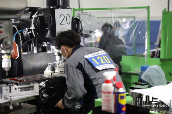 경상북도가 고용노동부가 주최한 제55회 전국기능경기대회에서 종합우승을 차지했다. (사진 = 경상북도)