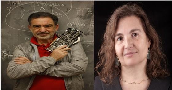 현대·기아차 AI 기술 자문위원으로 활동중인 토마소 포지오(Tomaso A. Poggio) 교수(좌)와 다니엘라 러스(Daniela L. Rus) 교수 (사진 = 현대차 그룹)