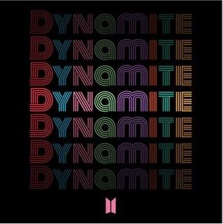 ▲방탄소년단 디지털 싱글 Dynamite 온라인 표지 (사진 = 빅히트엔터테인먼트 / Dreamus 제공)