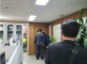 [NSP PHOTO]소상공인 위한다는 배동욱 소공연 전 회장측, 연합회 사무실 난입해 소란·경찰 출동