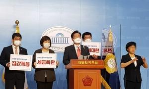 """[포토]국민의힘, """"현 정부 부동산 관련 입법 위헌성 심각...헌법소원 추진"""""""