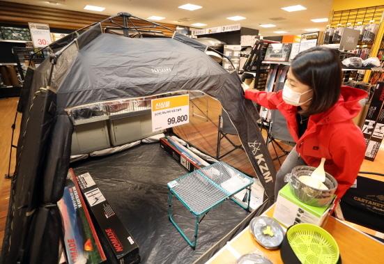 캠핑용품 (사진 = 이마트 제공)