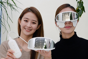 [포토]LG전자, 눈가 전용 뷰티기기 'LG 프라엘 아이케어' 첫 선