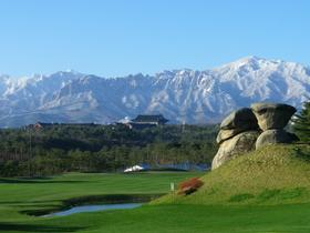 [NSP PHOTO][가볼까]겨울 골프의 핫 플레이스 강원도 고성 '파인리즈리조트'