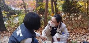 [NSP PHOTO]박미효 서울시 서초구의원, 사람 떠난 한신4지구 재건축 단지내 길고양이 보호에 앞장