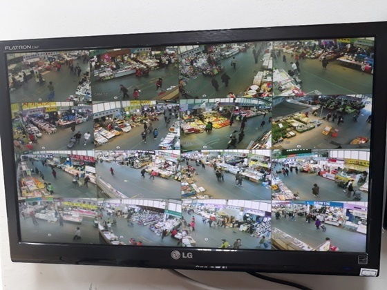 양천구 미등록시장 설치된 CCTV 화면 (사진 = 양천구)