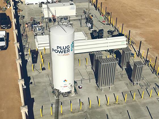 플러그파워 액화수소탱크. (사진 = SK)