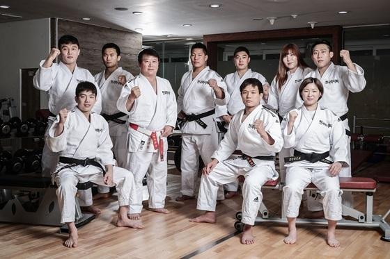 한국마사회 유도단 (사진 = 한국마사회)