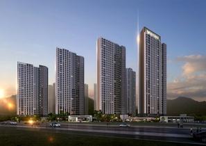 [NSP PHOTO]롯데건설, 2070억 원 규모 창원 양덕 4구역 재개발사업 수주