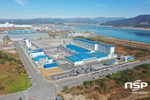 포스코케미칼 양극재 광양공장 전경 (사진 = NSP통신 D/B)