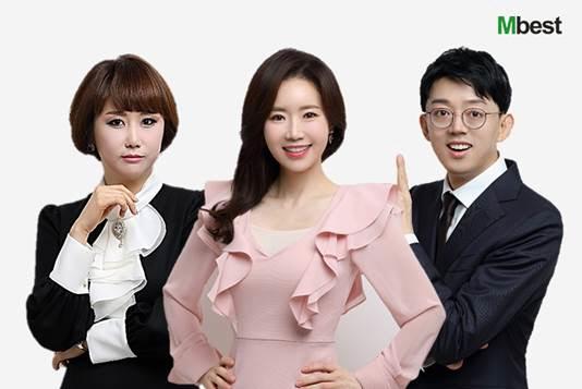 좌측부터 유현진(국어), 박영아(영어), 민정범(수학) 강사 (사진 = 엠베스트 제공)