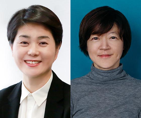 이수영 에코매니지먼트코리아 홀딩스 집행임원(좌)과 옐로우독의 제현주 대표. (사진 = LG)