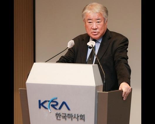 김우남 제37대 한국마사회 회장 (사진 = 한국마사회)