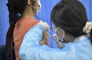 [포토]장수군, 코로나 백신 1차 접종대상자 접종 완료