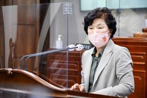 [NSP PHOTO]순천시의회 이영란 의원, 경전선 전철화 관련 순천시 뒷북행정 지적