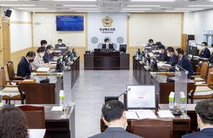 [NSP PHOTO]경북도의회 지방분권추진특별위원회, 첫 업무보고 받아