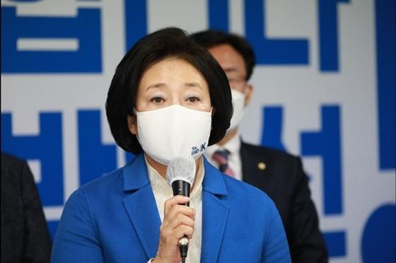 박영선 더불어민주당 서울시장 후보 (사진 = 박연선 선거캠프)