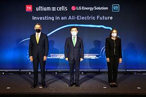 [NSP PHOTO]LG에너지솔루션·GM, 전기차 배터리 제2 합작공장 설립…테네시州 스프링힐에 2조7천억원 투자