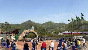 [NSP PHOTO]청도차산농악, 찾아가는 거리 공연 개최